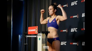 Alexa Grasso Badly Misses Weight at UFC 246 - MMA Fighting