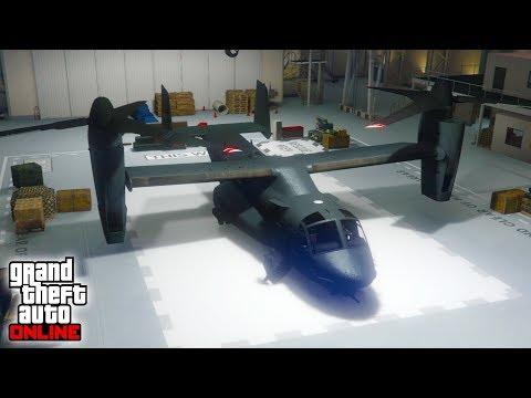 ROBO EL VTOL (AVENGER)!! - Doomsday Heist DLC (Dia del Juicio Final) - GTA V ONLINE (GTA 5)