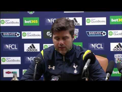 Mauricio Pochettino on Tottenham's 3-0 win at West Brom