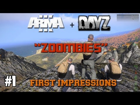 Arma 3 Zoombies First Impressions ( New DayZ Mod ) Part 1