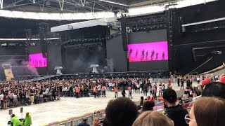 BTS - Intro VCR + Dionysus + Not Today (Wembley Stadium 01.06.2019)