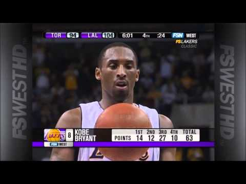 Kobe Bryant 81 Points Game Highlights video