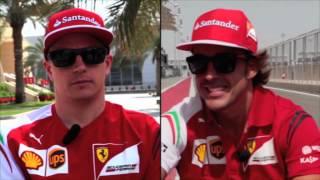 F1 2014 - Ferrari - Crossed interview