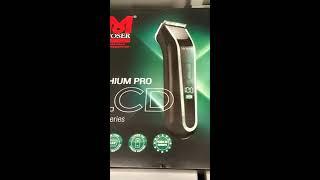 MOSER 1902-0460 Lithium Pro LCD Saç Kesme Makinasi Kutu İçeriği