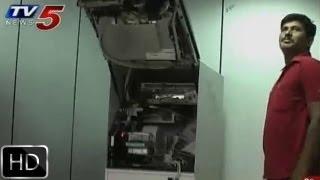 ATM - ATM Robbery in  Hyderabad's Dilsukhnagar branch  - TV5