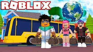 Tatile Giderken Başımıza Gelenler   Roblox Macera Otobüsü
