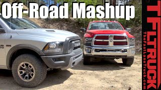 2016 Ram Rebel vs Power Wagon: Off-Road Mashup Review in Arizona