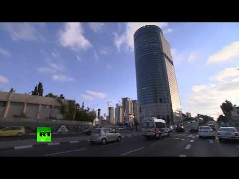 RAW: Air raid sirens, rush in Tel Aviv, Israel