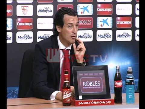 Rueda de prensa de Unai Emery tras el partido del Sevilla FC (1-1) Levante