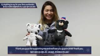 (KOR/ENG) Team USA snowboarder Chloe Kim