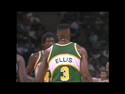 5OT NBA Classic: Bucks Beat Supersonics, Dale Ellis Scores 53