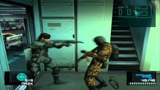 Metal Gear Solid 2: Substance #1 (PCSX2 rev.5392)