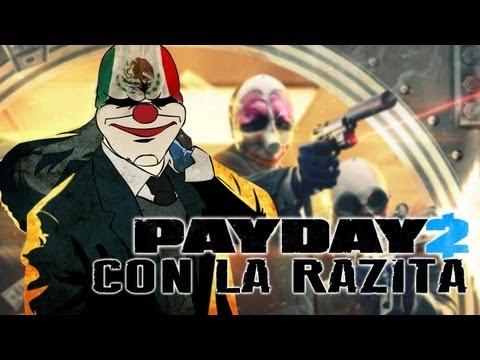 Pay Day 2 con las Ratas de dos Patas con Wero. Bean3r y Delt4