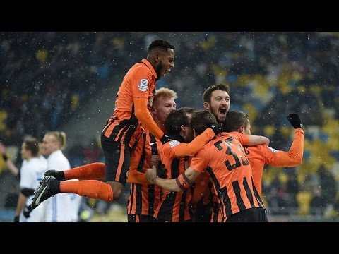 Dynamo 3-4 Shakhtar. Highlights (12/12/2016)