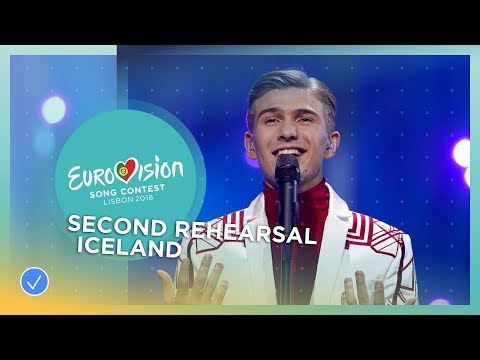 "Ari Ã""lafsson - Our Choice - Exclusive Rehearsal Clip - Iceland - Eurovision 2018"