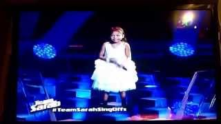 "The Voice Kids ""Lyca"" singing Dance with my Father again (tagalog version)"