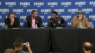download musica Utah Jazz Postgame Thunder vs Jazz - Game 4 April 23 2018 2018 NBA Playoffs