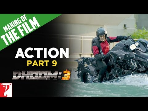 Making Of DHOOM:3 - Part 9 - Action Of DHOOM:3