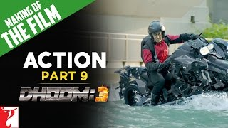 Making Of The Film - DHOOM:3 | Action of DHOOM:3 | Part 9 | Aamir Khan