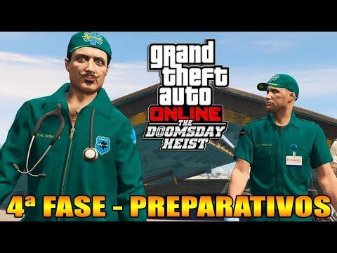 GTA V Online : Doomsday Heist | Ep.4 | CADÁVERES NA MORGUE