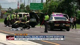 Fewer Florida State Troopers on the road to keep you safe