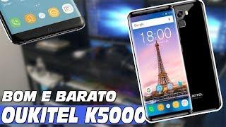 OUKITEL K5000 UNBOXING - BOM E BARATO