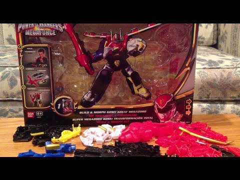 Build and Morph Gosei Great Megazord Review [Power Rangers Megaforce]