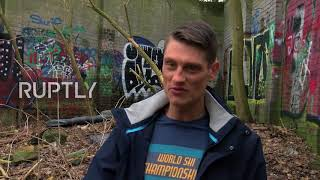 Germany: Presumed part of Berlin Wall unveiled