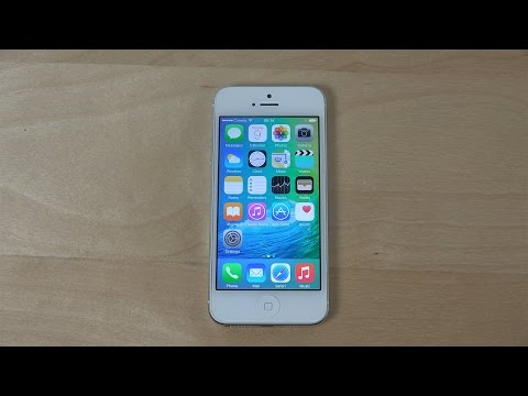 iPhone 5 iOS 9 Beta - Review (4K)