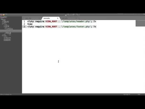 Learn PHP: Basic CMS - Output Pages (Part 3/8)