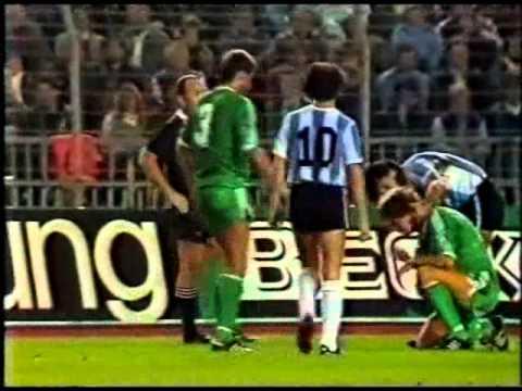 Germany v Argentina 12th SEP 1984
