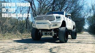 "SEMA Toyota Tundra 15"" Lift - Project Show Stopper"