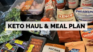 Weekly Keto Grocery Haul & Getting Back To Meal Planning
