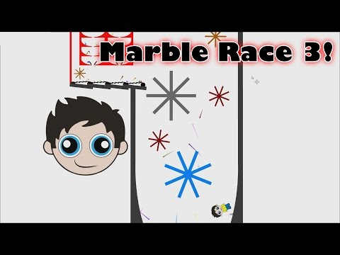 Marble Race 3 KP's Marble Madness Made in Algodoo - Kinder Playtime