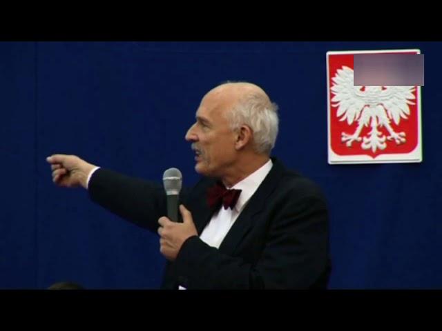 Unią Europejską rządzą złodzieje i debile! – Janusz Korwin-Mikke ostro o eurokratach!