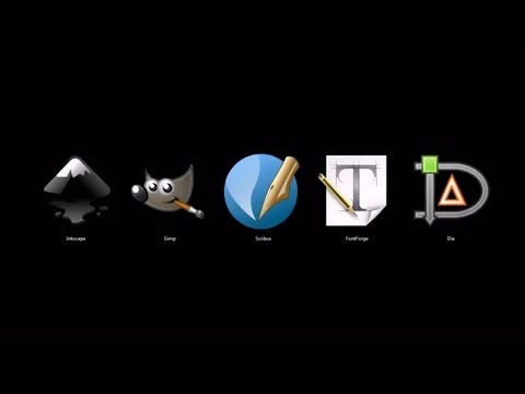 Top 5 Graphic Design Programs Open Source Free Youtube