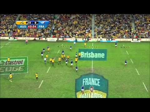 Australia vs France 07.06.2014 - Rugby Test Match - HD