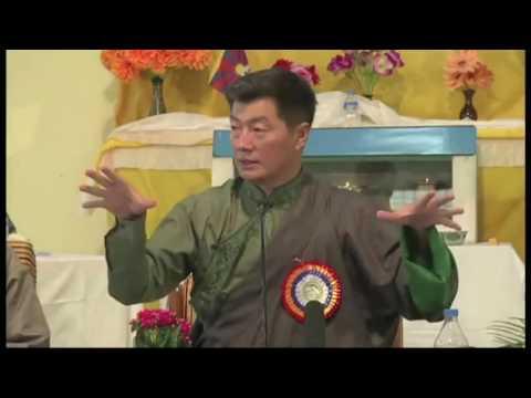 Sikyong Lobsang Sangay spoken on health
