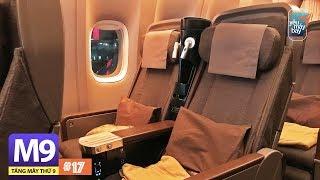 [M9] #17: New York đi Đài Bắc với hạng phổ thông đặc biệt China Airlines   Yêu Máy Bay