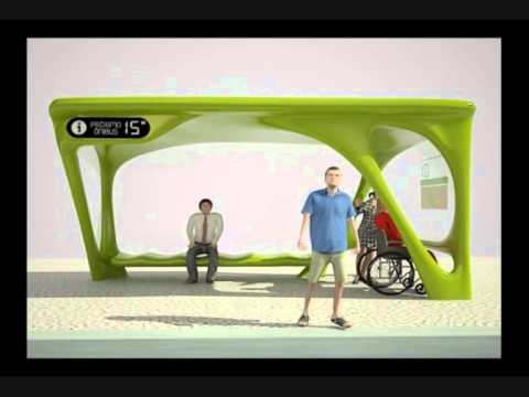 Sightseeing Bus Shelter - Ponto Turismo 2014