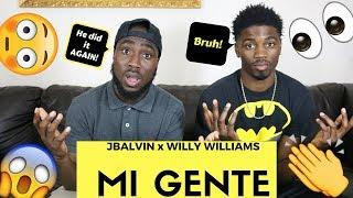 download lagu J. Balvin, Willy William - Mi Gente  Reaction gratis