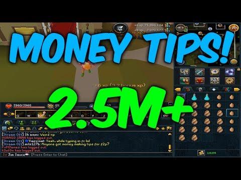 Runescape: 3 Simple Money Making Methods! 2.5M+ p/Hr