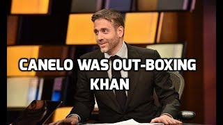 MAX KELLERMAN SAYS CANELO WAS OUT-BOXING AMIR KHAN