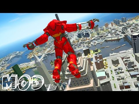 GTA IV - New Armors for [Iron ManIV MOD] Iron man 3 Mark 39 Starboost + Iron man