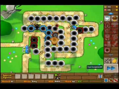 Bloons tower defense 5 spike factory madness youtube