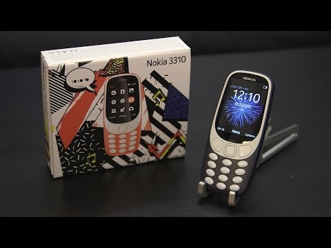 Nokia 3310 (2017) Unboxing And Boot Up