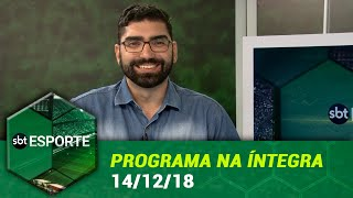 SBT Esporte - 13/12/18 - programa completo