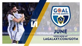 June Nominees: Goal of the Month - presented by 76 Gas