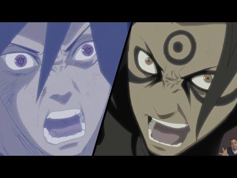 Naruto Shippuden Episode 366 -ナルト- 疾風伝 Review -- Madara Vs Hashirama & Tobirama Vs Sasuke