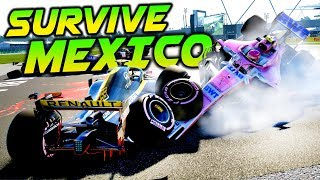 SURVIVE MEXICO - F1 2018 Extreme Damage Mod F1 Game